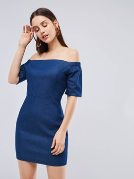 Off Shoulder Elegant Women's Bodycon Dress