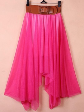 New Chiffon Bohemia Women's Plus Size Skirt