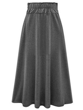 A-Line Strap High Waist Pleated Retro Skirt