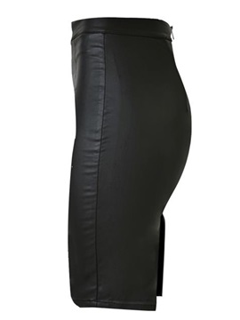 High Waisted Package Buttocks Black Women's Skirts (Plus Size Available)