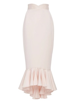 High Waisted Package Buttocks Pink Women's Skirts
