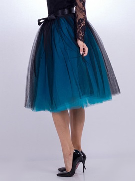 Knee-Length Tulle Women's Skirt