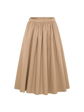 Ankle-Length Pleated Women's Skirt