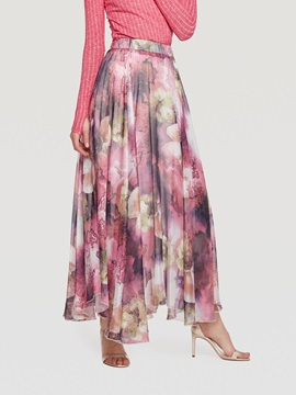 Ankle-Length Floral Women's Skirt