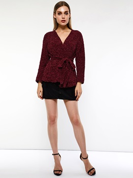 A-Line Fall Button Plain Women's Mini Skirt