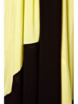 Color Blocked Maxi Dress
