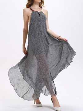 Sisjuly® Backless Split  Dress