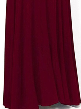 Tidebuy Off-The-Shoulder Split Women's Maxi Dress