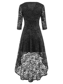 Ankle-Length Pullover Summer Women's Lace Dress