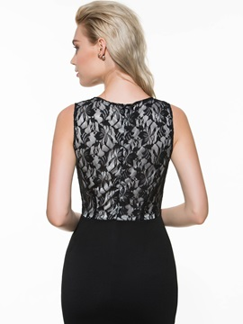 European Style Joint Bodycon Dress