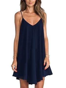Casual Strappy Women's Day Dress