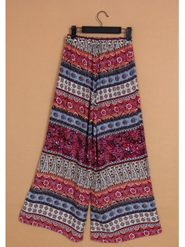 High Quality Loose Totem Print Pants