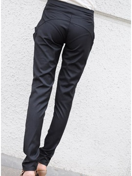 Korean Leisure Bow Knot Classical Haroun Pants