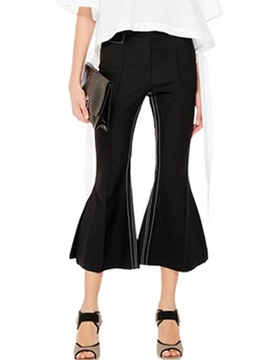 Black Work To Wear Formal Palazzo Pants