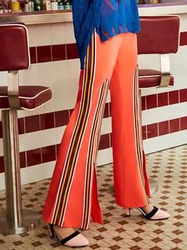 Slim Full Length  Women's Bellbottoms Pants