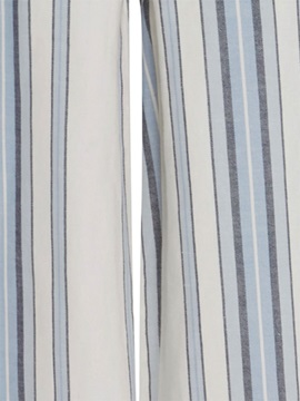 Button Stripe Women's Pants