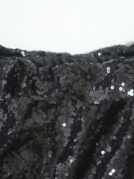 Sequins Slim Full Length Pencil Style Women's Casual Pants