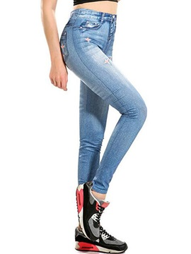 Slim Denim Jeans Leggings