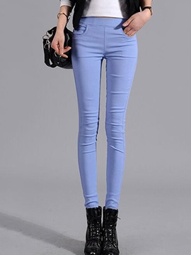 Slim Candy Color Leggings