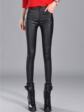 High Waisted Black Tight Women's Leggings (Plus Size Available)