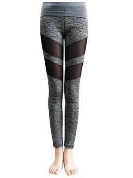Slim Stripe Yoga Women's Leggings