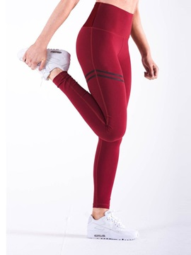 Print Thin Elastic Yoga Pants Women's Leggings