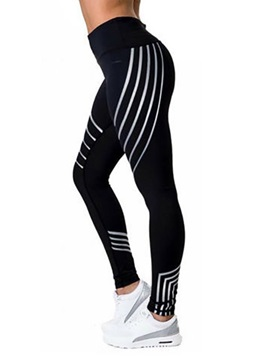 Print Stripe Women's Leggings