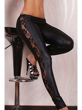 Black Polyester Body Pantyhose & Stockings 7878