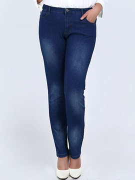 Plus Size Skinny Women's Pencil Jean