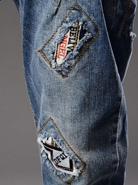 Chic Single-Breasted Haren Jean