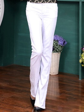 Candy Color Palazzo Jeans