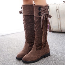 Western Round Toe Slip-On Booties