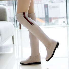 Hidden Elevator Heel Women's Knee High Boots