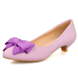 Bowknot Decorated Pumps