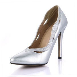 Hollow-out & Rhinestone Classic Pumps