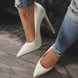 Slip-On Stiletto Heel Pointed Toe Casual Women's Pumps