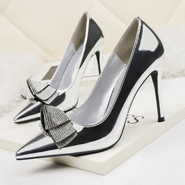 Stiletto Heel Pointed Toe Banquet Pumps