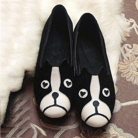Dog and Cat Slip-On Flats