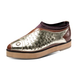Pointed Toe Slip-On Casual Shoes for Women