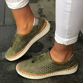 Flat With Fringe Slip-On Casual Thin Shoes