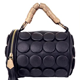 European PU Tassel Designed Women's Satchel