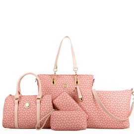 Solid Women Graphic Women Bag Set