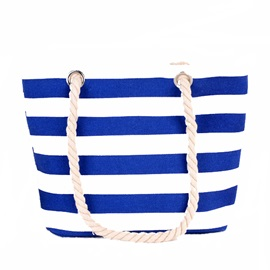 Stripe Canvas Hot Sale Women Tote Bag
