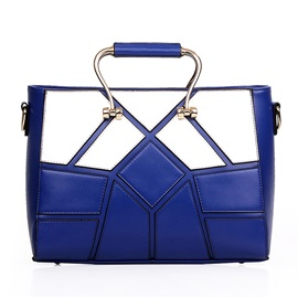 Patch-work Women's Top Handle Bag