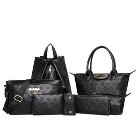 Casual Multi-Function 7 Pieces of Bag Sets
