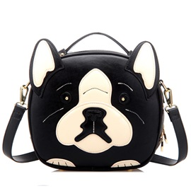 Lovely Doggy Type Women's Satchel