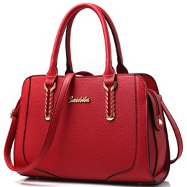 Pure Color Women Satchel