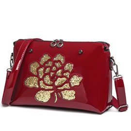 Lastest Hollow Sequins Crossbody Bag