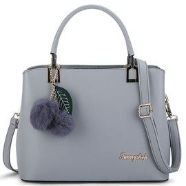 Simple Fuzzy Ball Women Satchel