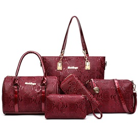 Vogue Exquisite Serpentine Pattern Bag Sets